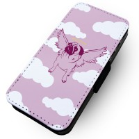 Angel Pug Samsung Galaxy Phone Case (For various samsung galaxy models)