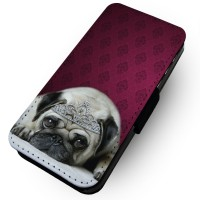 Princess Pug iPhone Case (For all iPhone models)