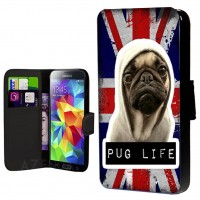 Pug Life Union Jack Samsung Galaxy Case (For various models)