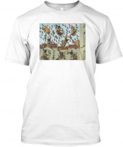 Raining Pugs Unisex T Shirt