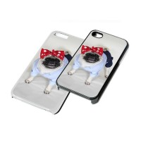 Sassy Pug Phone Cover (For various models & In Black or White)