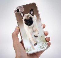 Running Pug iPhone Cover (For various models)