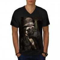 Mens Pug T Shirt
