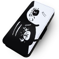 Yin Yang Pug Samsung Galaxy Phone Case (For various samsung galaxy models)