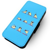 Yoga Pug Samsung Galaxy Phone Case (For various samsung galaxy models)