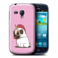 Galaxy S3 Mini Pug Unicorn Cover