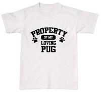 Funny Pug Unisex T Shirt