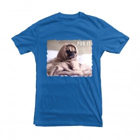 Unisex Pug Funny T Shirt (Available in 3 colours)