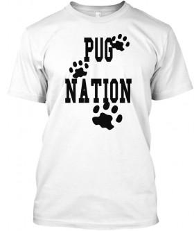Unisex Pug Nation T Shirt
