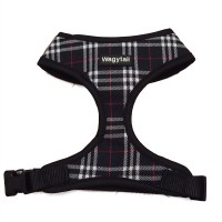 Black Plaid  Wagytail Harness