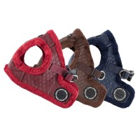 Puppia Fleece Lined Farren Harness B (Available in 2 colours)
