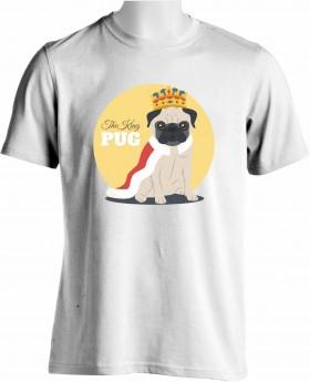 king Pug Unisex T Shirt
