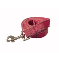 Pink Plaid Wagytail Checked Lead