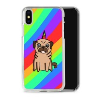 Pug Pride Unicorn iPhone Cover