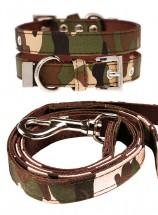 Urban Pup Camo Print Collar & Lead Set