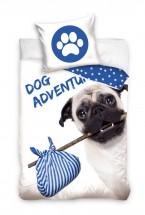 Pug Adventure Single Duvet Set