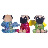 Triple Pug Dragons Soft Toy (Set of 3)