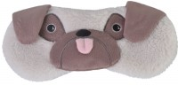 Super Soft Furry Pug Eye Mask