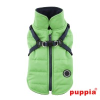 Puppia Green Fleece Lined Mountaineer