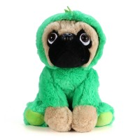 Green Pug Plush Toy