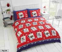 Cute Pug Single Duvet Set