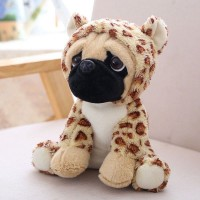 Leopard Pug Plush Toy
