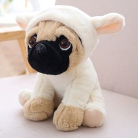 Little Lamb Pug Plush Toy