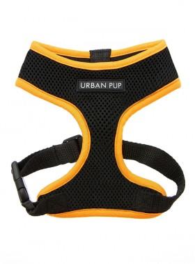 Neon Orange Rimmed Urban Pup Harness
