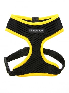 Neon Yellow Rimmed Urban Pup Harness