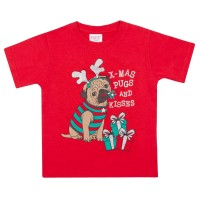 Kids Unisex Pug Christmas Jumper