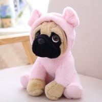 Pink Piglet  Pug Plush Toy