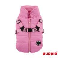 Puppia Pink Fleece Lined Mountaineer