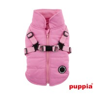 Puppia Pink Fleece Lined Mountaineer
