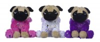 Sparkle Pug Plush Toy