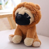 Lion Pug Plush Toy