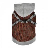 Puppia Vale Fleece Lined Navy Sweater