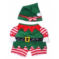 3D Christmas Elf Costume