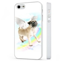 Pug Angel iPhone Cover
