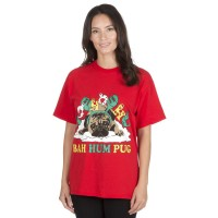 Cute Pug  Christmas T Shirt