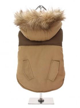 Brown On Brown Parka Coat