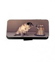Funny Pug Dr Who iPhone Case