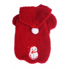 Fluffy Happy Winter Fleece Hoodie (Size xl only)