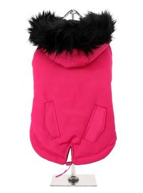 Hot Pink Parka Coat