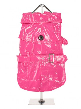 Urban Pup Hot Pink Trench Coat