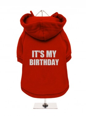It's My Birthday Fleece Lined Hoodie (Available in 3 colours )