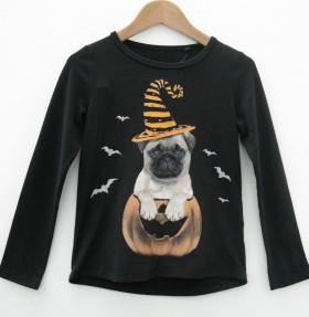 Kids Pug Halloween T Shirt
