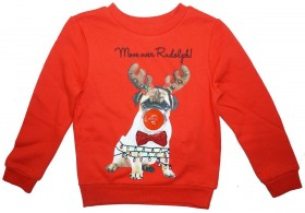 Cute Kids Christmas LED Light Up Sweater
