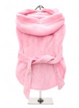 COSY PINK FLUFFY BATHROBE