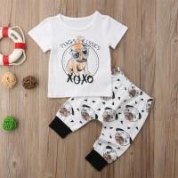 Cute Pug Baby Set