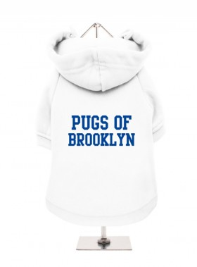 Pugs Of Brooklyn Fleece Lined Hoodie(Available in 6 colours)